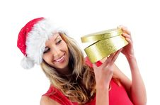 Free Santa Girl Royalty Free Stock Image - 6900636