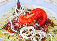Free Spaghetti Royalty Free Stock Photo - 6900735