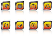 Free Popular Icons & Buttons Stock Photo - 6901140