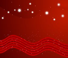 Free Abstract Christmas Design Vector Stock Photography - 6901222