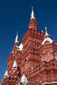 Free History Museum At The Red Square In Moscow Royalty Free Stock Image - 6901806
