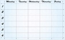 Free School Scheduler Royalty Free Stock Photos - 6901868
