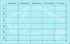 Free School Scheduler Stock Image - 6901911