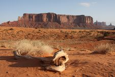 Free Monument Valley Butte Stock Photography - 6901992