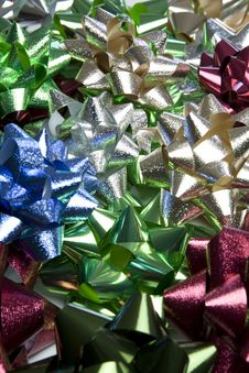 Free Pile Of Christmas Gift Bows Royalty Free Stock Photography - 6902587