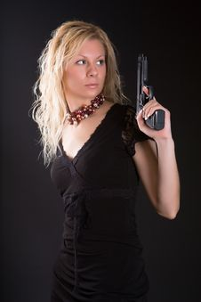 Free Dangerous Woman Stock Image - 6902591