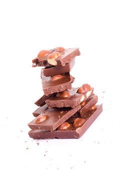Free Chocolate Tower With Crumb Stock Photo - 6903300