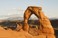Free Delicate Arch Stock Photography - 6903692