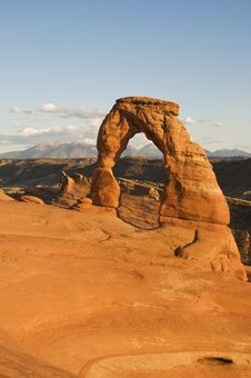 Free Delicate Arch Stock Image - 6903701