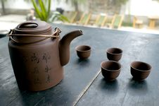Free Tea Set Stock Photography - 6904602