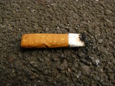 Free Cigarette-end Royalty Free Stock Image - 6905056
