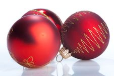 Free New Year Balls Royalty Free Stock Image - 6905126