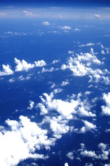 Free White Clouds Royalty Free Stock Photo - 6905195
