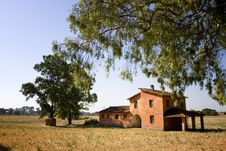 Old Italian Farmhouse Stock Images