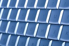 Free Keyboard, Details Royalty Free Stock Photo - 6905765