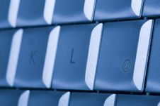 Free Keyboard, Details Stock Photography - 6905772