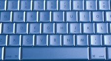 Free Blue Buttons Of The Keyboard Royalty Free Stock Image - 6905836