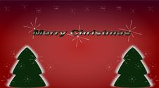 Merry Christmas Wishes Royalty Free Stock Photography
