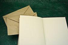 Free Open Book And Envelopes Stock Photos - 6906043