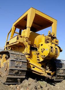 Free Bulldozer Equipment 4 Stock Images - 6906044