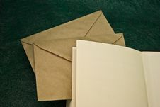 Free Open Book And Envelopes Royalty Free Stock Image - 6906046