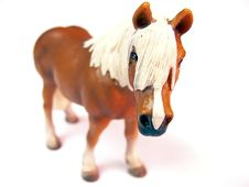 Free Horse- Plastic Toy Royalty Free Stock Images - 6906199