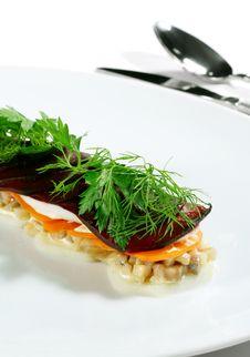 Free Herring Salad Royalty Free Stock Image - 6906426