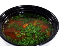 Free Japanese Cuisine -- Soup Stock Photography - 6906432