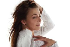 Girl Like An Angel Royalty Free Stock Photos
