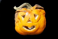 Free Decaying Halloween Lantern Stock Photography - 6907312