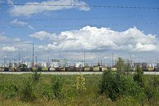 Oil Storage Stock Image