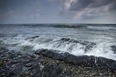 Free Stormy Black Sea Stock Photography - 6907782