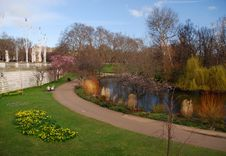 Free Park In London In Early Spring Stock Photography - 6908212