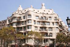 Free Casa Mila - Barcelona Stock Images - 6908224