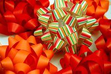 Gift Bows Stock Photo