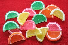 Background Fruit Candy. Stock Photography