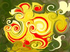 Free Abstract Twirl Background 15 Stock Image - 6909861