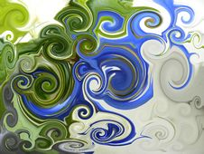 Free Abstract Twirl Background 16 Royalty Free Stock Photography - 6909867