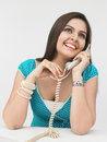 Free Woman Speaking In The Phone Stock Photos - 6910793