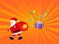 Free Santa Claus With Gift Bag Stock Photo - 6914340