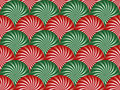 Free Red And Green Peppermint Background Stock Image - 6918231