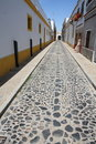 Free Narrow Street Of The Small Spanish Town Stock Photography - 6919202