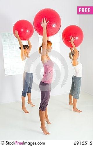 Free Fitness Women Royalty Free Stock Photo - 6915515