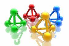 Free Render Of Molecule Stock Images - 6910054