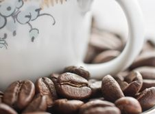 Free Close-up Of Coffee Beans Royalty Free Stock Photo - 6910215