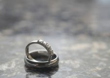 Free Wedding Rings Stock Images - 6910764
