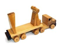 Free Wooden Macktruck Rear-view Stock Photo - 6911010