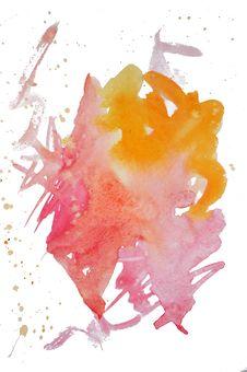 Free Watercolor Mark Royalty Free Stock Image - 6911256