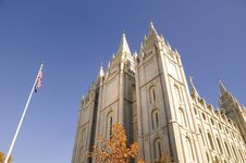 Free Mormon Temple Stock Photo - 6912350