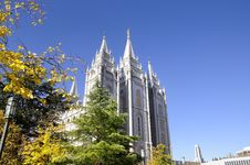 Free Mormon Temple Stock Photo - 6912360